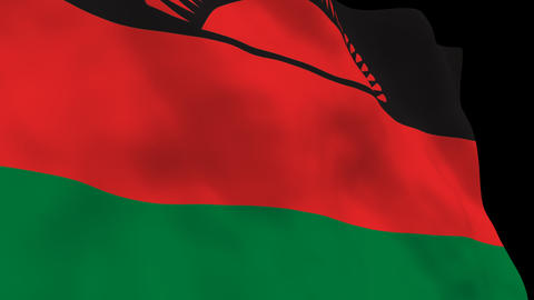 Flag B141 MWI Malawi Animation