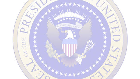 Presidential Seal 04 (25fps) Animation