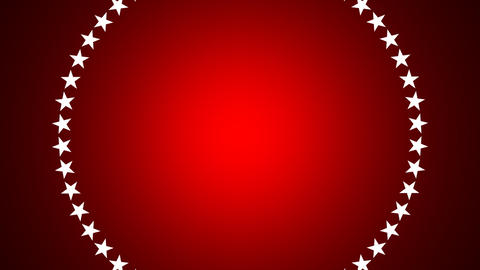BG ROTATINGSTARS 11 red 25fps Animation