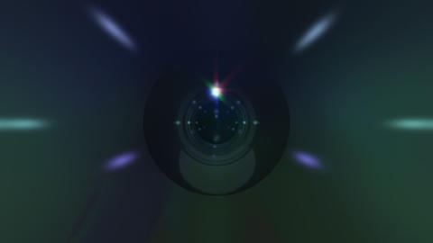 Lens Cen 2 ss HD Stock Video Footage