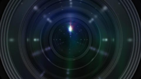 Lens Cen ss Stock Video Footage