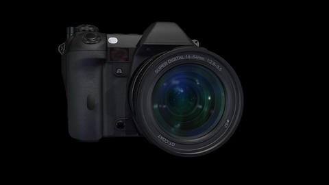 Lens L ss Stock Video Footage