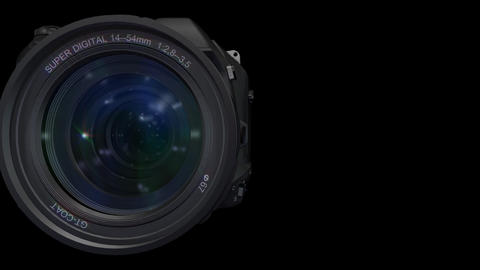 Lens Pan ss Stock Video Footage