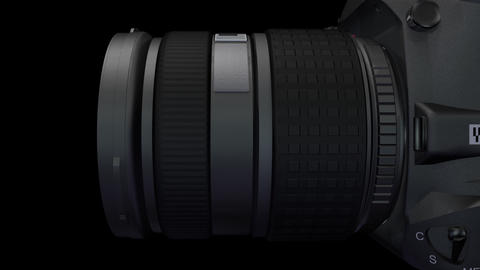 Lens Rot 2 ss HD Stock Video Footage