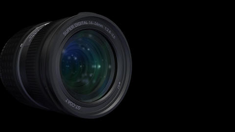 Lens Side b ss HD Stock Video Footage