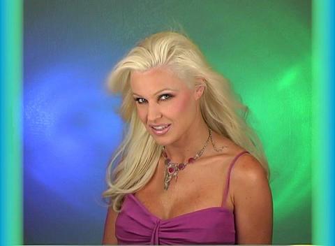 Beautiful Blonde Headshot (2) Stock Video Footage