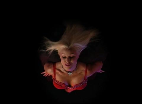 Beautiful, Busty Blonde (2) Stock Video Footage