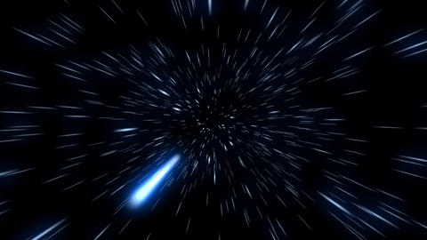 Space Travel 01 (25fps) Stock Video Footage