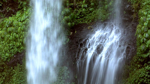 impossible waterfall 1 Stock Video Footage