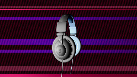 dj headphones Animation