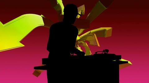 dj silouette 2 Animation