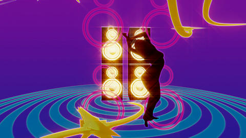speaker dancer 2 Animation