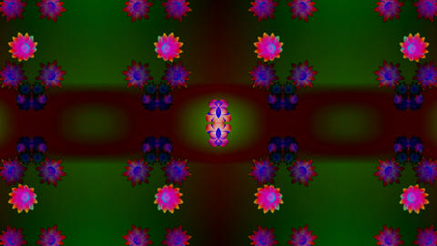 kaleidoflower 2 Stock Video Footage