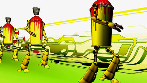 spraycan fandango Animation