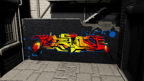 tagged alley Animation