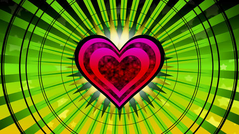 heart focus Stock Video Footage