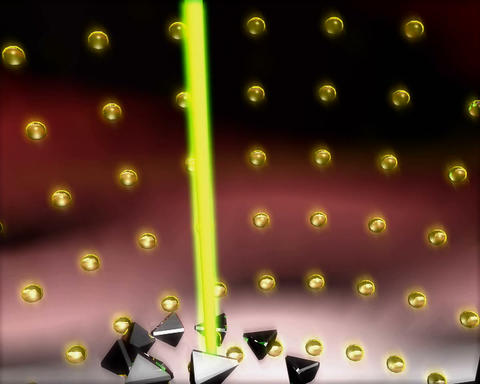 laser climber Stock Video Footage