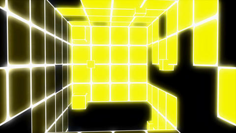 disco cubes Stock Video Footage