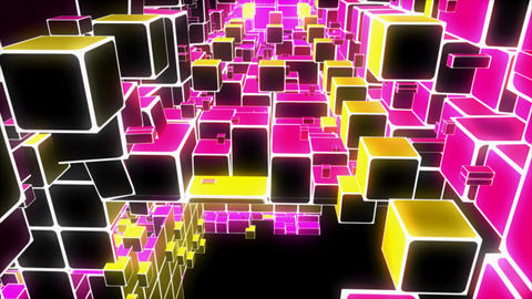 disco cubes Animation