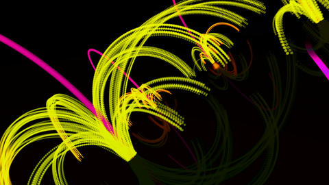 particle bounce fx Stock Video Footage