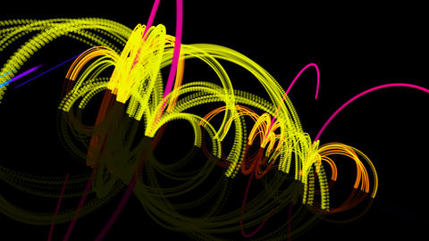 particle bounce fx Animation
