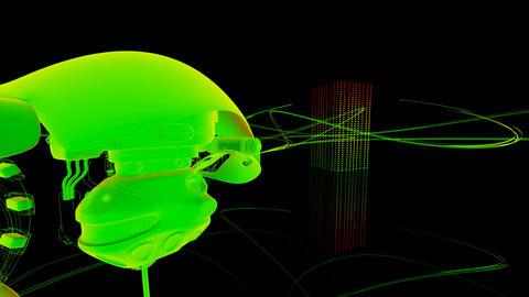 robo fly Animation