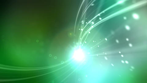 liquid lens flare Stock Video Footage