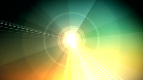 vector rays Stock Video Footage