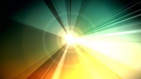 vector rays Animation