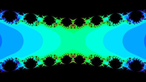 fractal edge Stock Video Footage