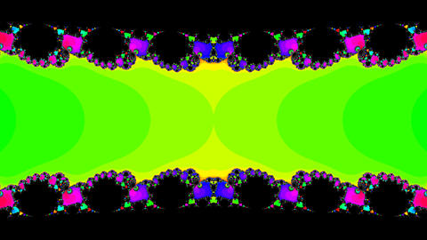 fractal edge Stock Video Footage