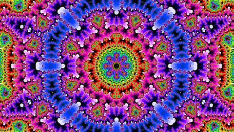 kaleidostrobe 1 hd Stock Video Footage