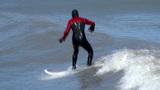 Surfing 2 stock footage