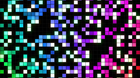 Square Cell Grid Light Background Ab 1 4k stock footage