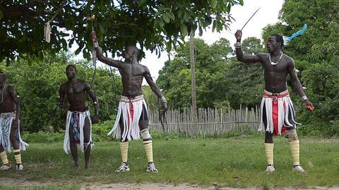 African dancers Footage