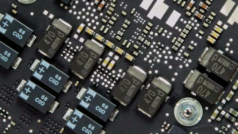 Motherboard - Zoom stock footage
