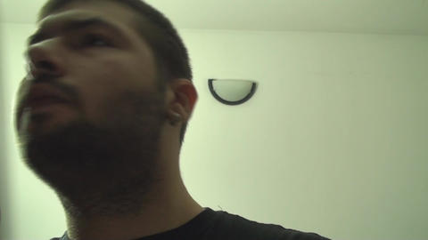 Young Male Searches In The Closet After A Nice Shi Footage