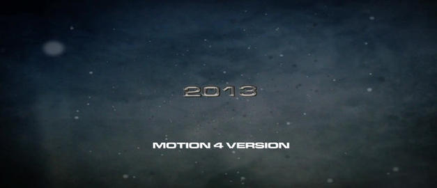 trailer 005 Apple Motion Template