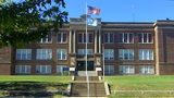 High School Alumni Museum In Shawnee OK stock footage