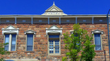 Historic Hotel Building Flagstaff Arizona stock footage