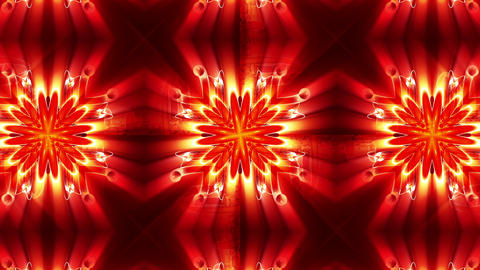 Light Streaks Ornamental Background Animation