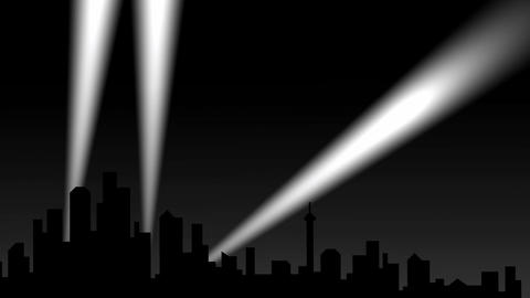 City spotlight Animation