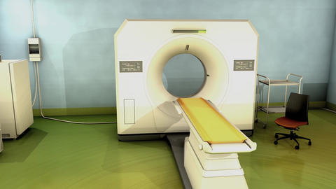 CT Scanner Animation