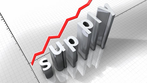 Growing chart - Supply Stock Video Footage
