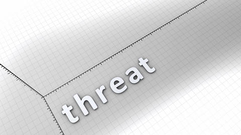 Growing chart - Threat Stock Video Footage