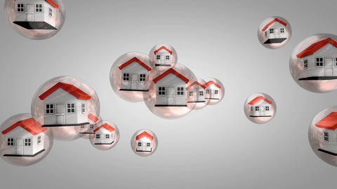 Housing bubble Animation