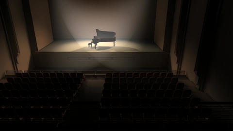 Piano stage Animation