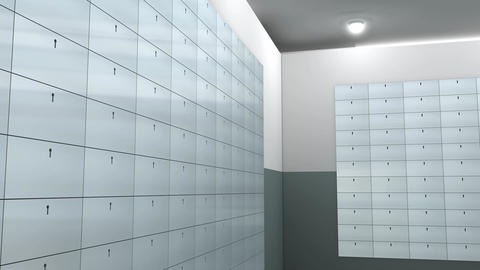 Safety deposit box Animation
