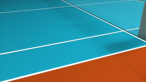 Tennis court Animation