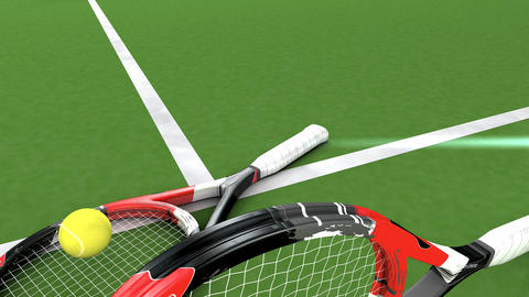 Tennis game Animation